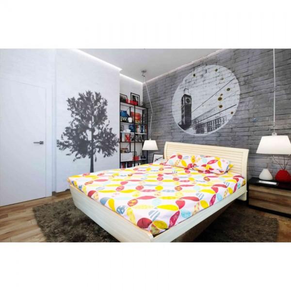 Luminous Geometrical Design Bedsheet