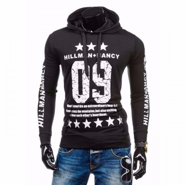 New Style Hoodie for Him 09- Grey