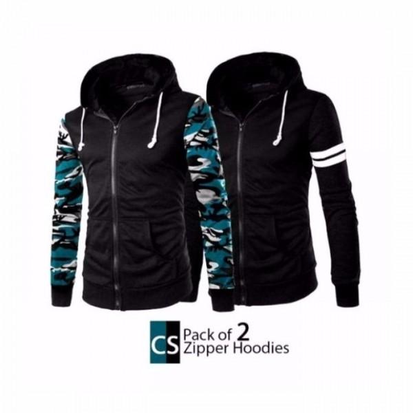 Pack of 2 CS Zipper Hoodies
