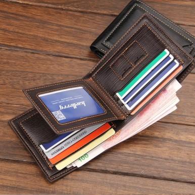 Baellerry Hot Business Mens Wallet