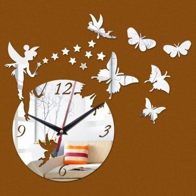 Acrylic Wall Clocks 3D Home Decor DIY Crystal Quartz Clock