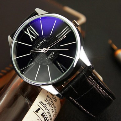 Yazole Watch Men Fashion Business Quartz