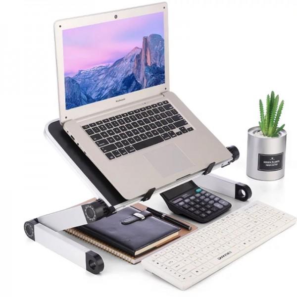 Aluminum Alloy Laptop Portable Foldable Adjustable Laptop Desk