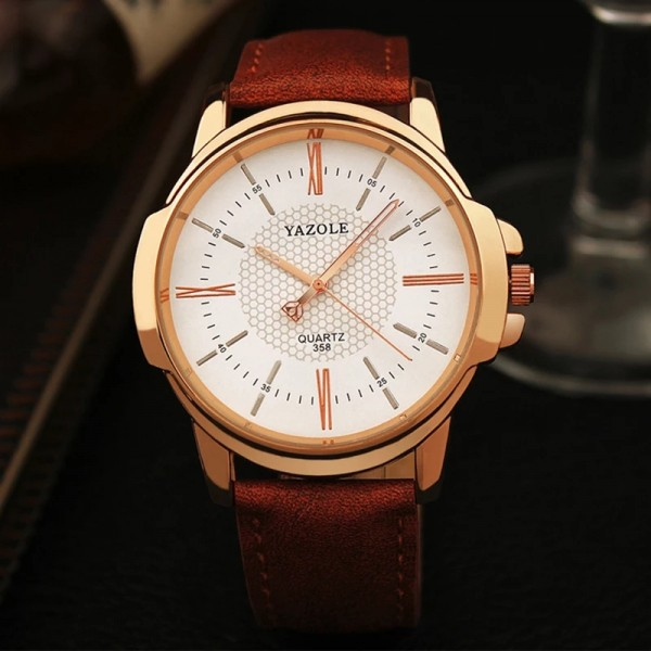 Yazole Brand Luxury Famous Men Watches Business