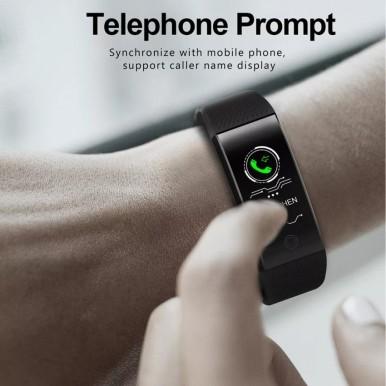 QW18 Smart Watch Sports Fitness Heart Rate Tracker