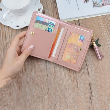 Mini Patchwork Womens Small Wallet Female Purse Luxury Leather