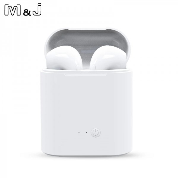 I7s TWS Bluetooth Earphone Stereo Earbud Wireless Bluetooth Earphones In-ear Headsets For All Smart Phone