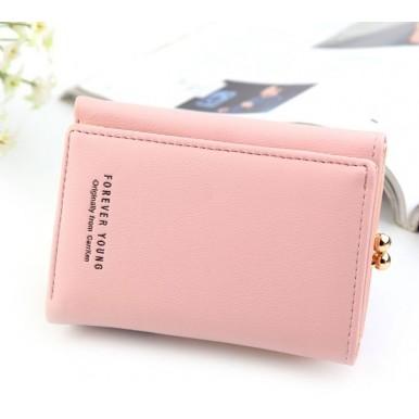 Short Women Leather Wallet Female