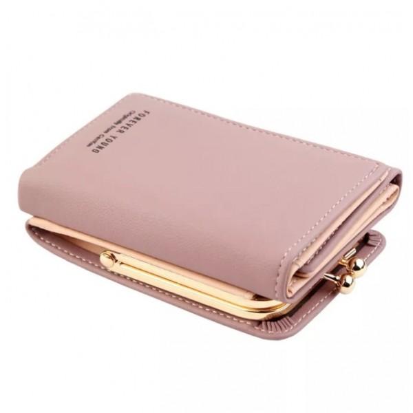 Women's Fashion Short Small Wallet Lady Leather Folding