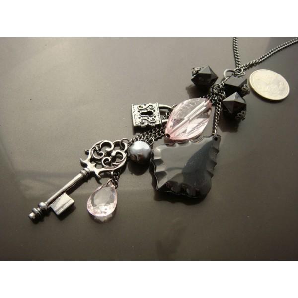 Charm Key Necklace