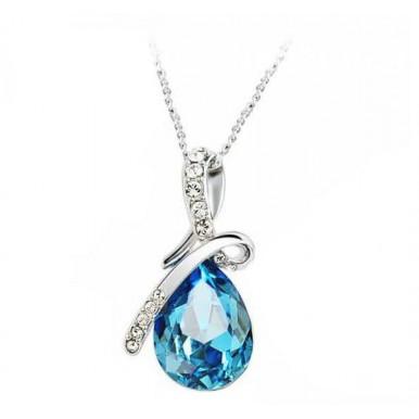 Swarovski Crystal Drop Necklace