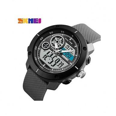 SKMEI 1361 Digital Watch Chronograph Alarm Dual Display Men Quartz Digital Watch