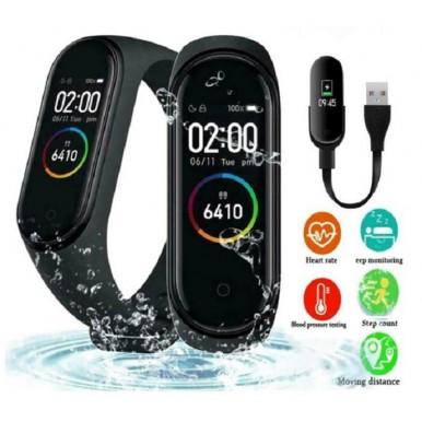 M4 Smart Band Fitness Tracker Sport bracelet Heart Rate Blood Pressure