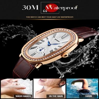 SKMEI Women's Quartz Wrist Watch Japanese Water Resistant
