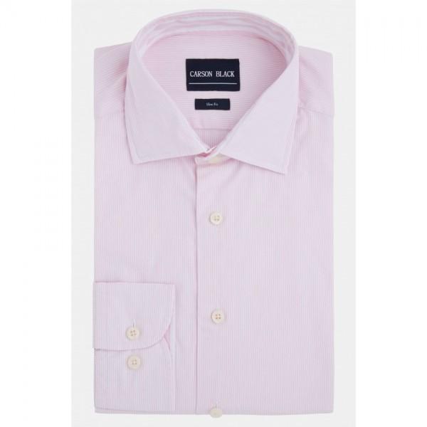 Pink Button Cuff Shirt For Him A21