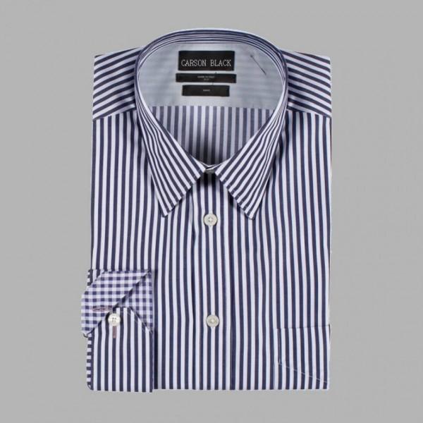 Black Bar Stripe Shirt A1