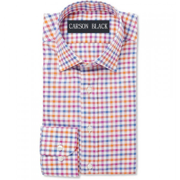 Multi-Color Gingham Shirt For Him