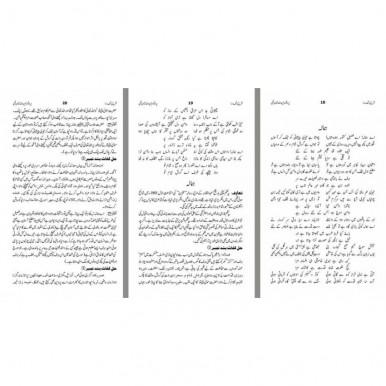 SHARAH KULYAT E IQBAL - URDU (4 VOLUMES)- (شرح کلیات اقبال - اردو (4 جلدیں)