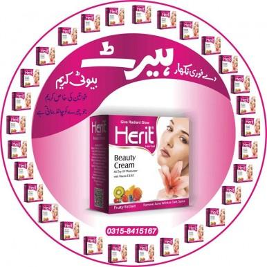 Herit Whitening cream and acne problems solve cream