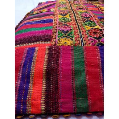 Afghan Handmade Embroidered Floor Cushion