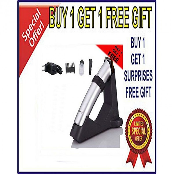Buy 2 Dingling Hair And Beard Trimmer (RF-608) And Get 1 Surprise Gift Free