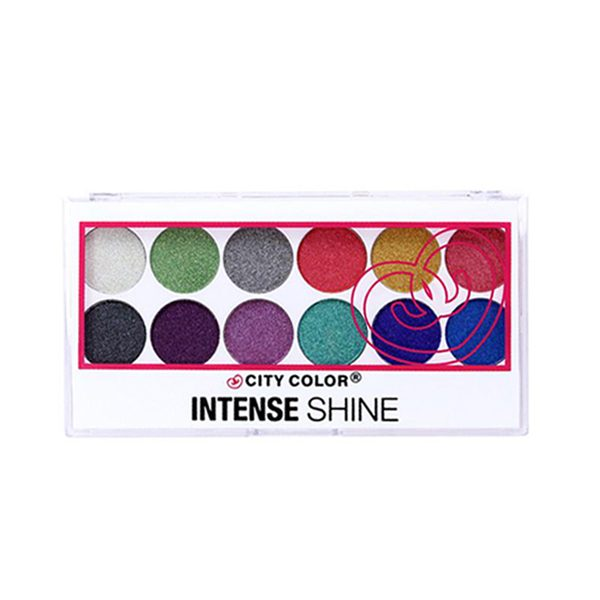 City Color Intense Shine Eyeshadow Palette
