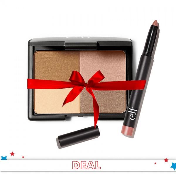 All You Need Is A Classy Look - Pack of Bronzer and lip color