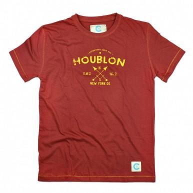 Houbon Maroon T-Shirt
