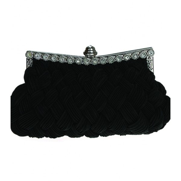 High Quality Black Color Clutch Craze of Women