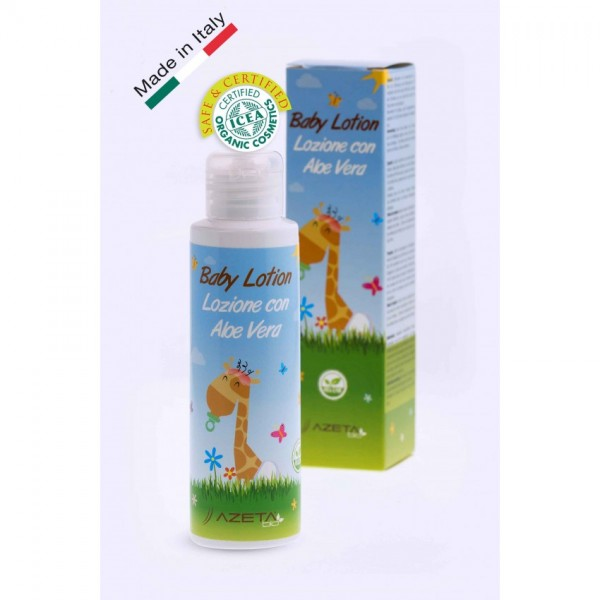 Organic Baby Lotion For Soft And Hydrated Skin 100ml (Ramazan Offer)