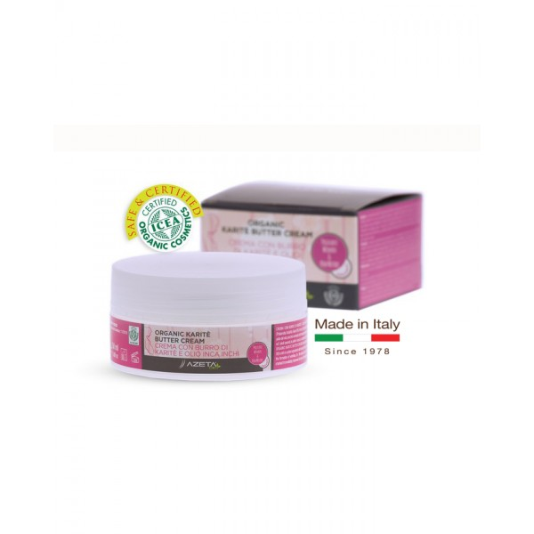 Organic Karit e -Shea-Butter Cream - Stretch Marks Recovery For Hand Foot and Face - Allergy Free 50ml