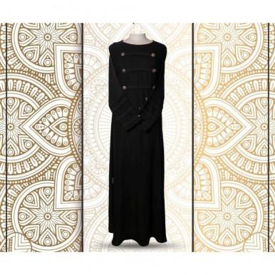 Black Color Stylish Abaya