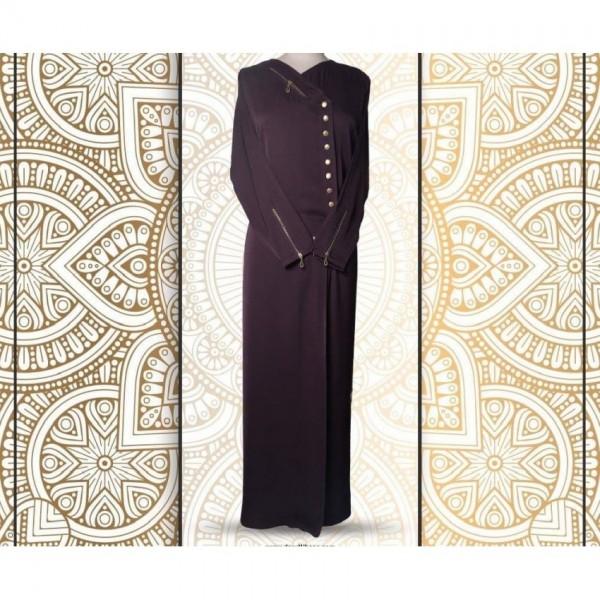 Stylish Buttoned Design Abaya