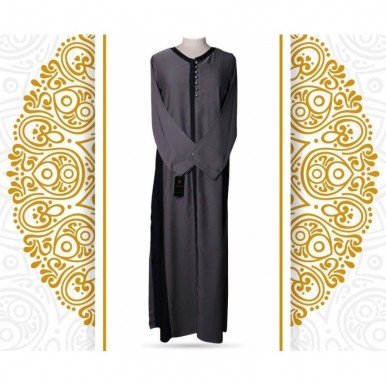 Classic Collection - Charcoal Color Abaya