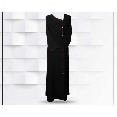 Elegant Style Black Abaya