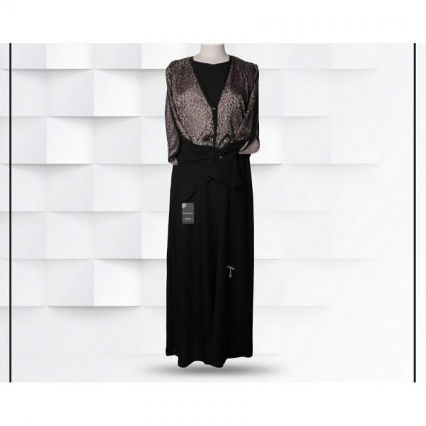Fancy Shimmery Body Style Abaya