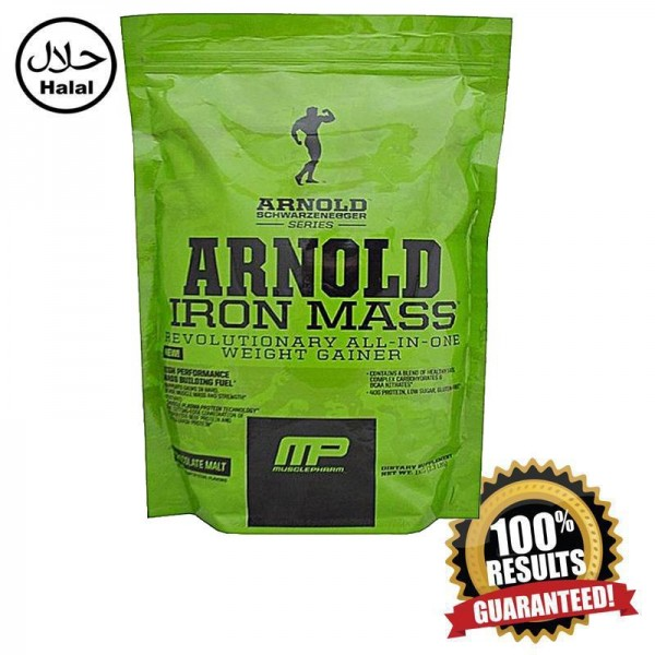 Muscle Pharm Arnold Iron Mass Weight Lifting Proteins - 1000g