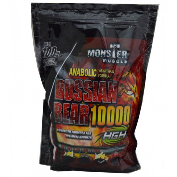 Russian Bear Nutrition Weight Gainer