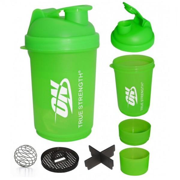 ON 100% Original Supplement Proteins 3PC Smart Shaker Cup Orange