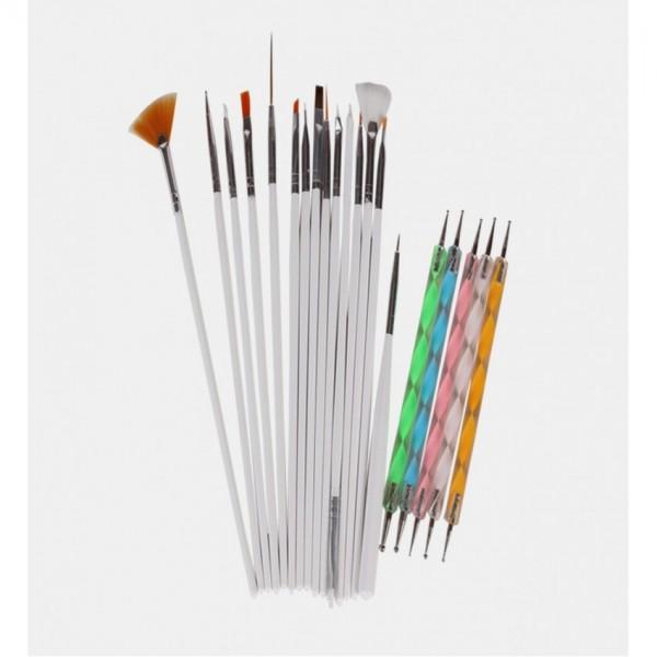 Nail Art Tool Pen Polish Brush Professional Kit