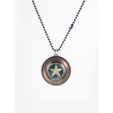 Captain America Pendant and Chain By Eagle Nestt