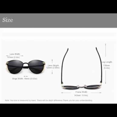 Women Polarised Sunglasses Luxury Fashion Cat Eye Style LMAOCLAN  Brand Female Sunglasses