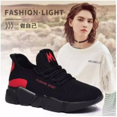 Woman casual shoes lightweight Walking mesh lace up flat sneakers 2020 Fashion Boots