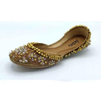 Heavy bead work khussa for Ladies