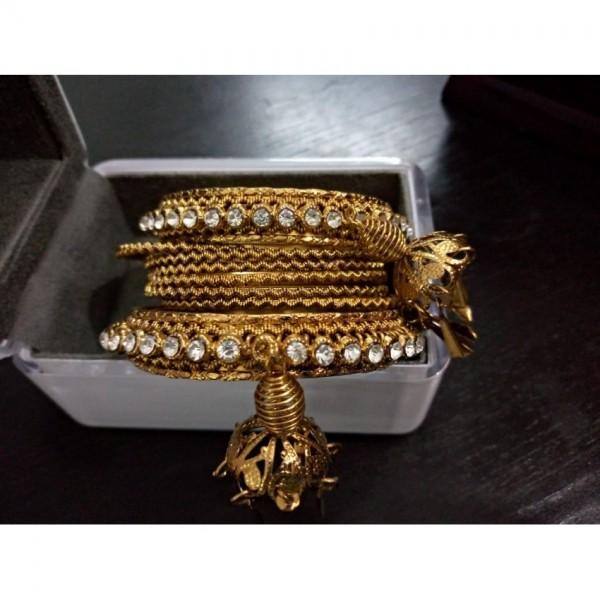 Set of metal bangles for Girls