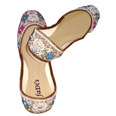 Multicolor khussa for ladies