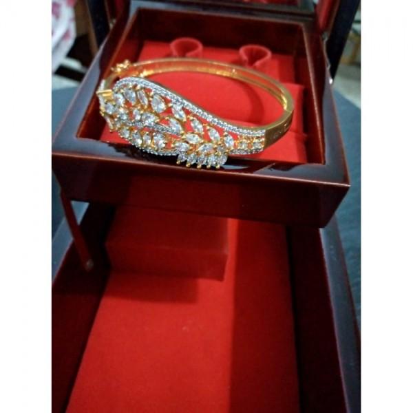 Gold Plated Bangle Bracelet for Her
