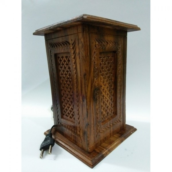 Antique Modern Wooden Table Lamp By Product Wala