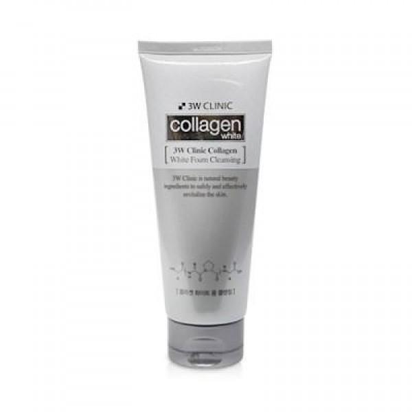 [3W CLINIC] Collagen White Foam Cleansing - 180ml