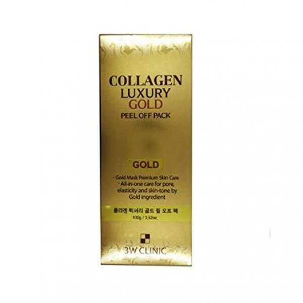 3W Clinic Collagen Luxury Gold Peel Off Pack 100g / 3.52oz